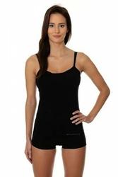Brubeck camisole cm 00210a czarny koszulka