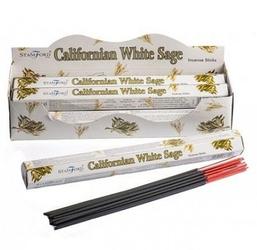 Kadzidełka długie - kalifornijska biała szałwia, opakowanie 20 szt.