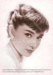 Papier ryżowy Calambour 33x48 cm Audrey Hepburn
