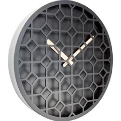 Zegar ścienny discrete nextime czarny 3215 zw