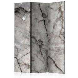 Parawan 3-częściowy - szary marmur room dividers