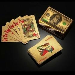 Złote karty 100 dolarów