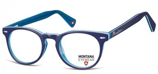 Okragle okulary oprawki optyczne, korekcyjne montana ma95f