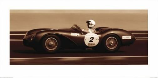 Aston Martin Db3S 1955 - reprodukcja