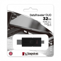 Kingston pendrive data traveler duo 32gb usb 3.2 ac gen 1