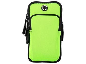 Etui torba armband opaska na ramię do telefonu alogy sportbag zielone - zielony