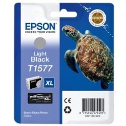 Tusz oryginalny epson t1577 c13t15774010 jasny czarny - darmowa dostawa w 24h