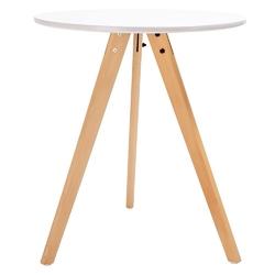 Okrągły stół w stylu skandynawskim tripod fi60