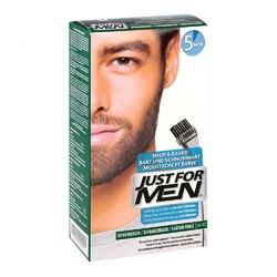 Just for men żel koloryzujący, ciemny brąz-czarny