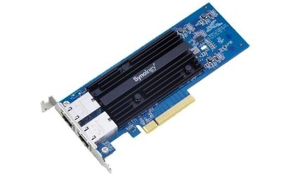 Synology karta sieciowa e10g18-t2 10gbase-t dual port pci-e