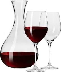 Karafka i kieliszki do wina harmony 3 el.