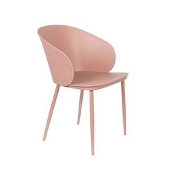 Orange line krzesło do jadalni gigi różowe 1100424