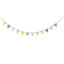 Girlanda chorągiewki pastele 4 metry bloomingville