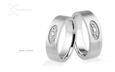 Obrączki ślubne - wzór au-543
