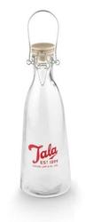 Butelka Vintage Retro z czerwonym logo 1l