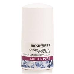 Macrovita dezodorant roll-on z naturalnym kryształem pure 50ml - pure