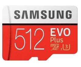 Samsung karta pamięci mb-mc512haeu evo+ msd +adapter