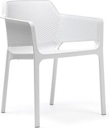 Krzesło ogrodowe net białe