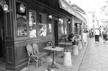 Paryż, montmartre 4687 - fototapeta