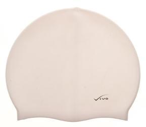 Czepek silikonowy vivo b-1307 biały