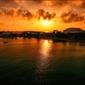 Zachód słońca – plakat wymiar do wyboru: 59,4x42 cm