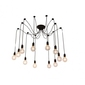 Żyrandol pająk spider loft edison 12 ramion uchwyt