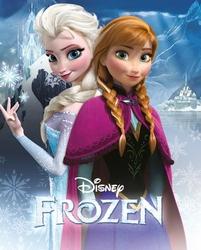 Frozen Kraina Lodu Anna i Elsa - plakat