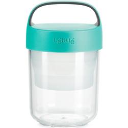 Pojemnik hermetyczny na posiłek 0,4 Litra Jar To Go Lekue turkusowy 0301014Z07U150