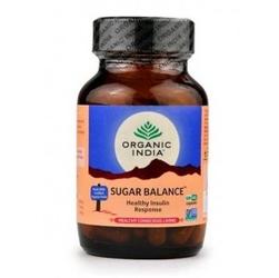 Sugar balance 60 organicznych kapsułek organic india - wyreguluj poziom cukru