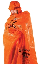 Śpiwór ratunkowy lifesystems survival bag