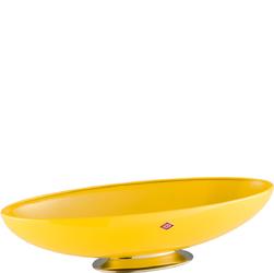 Patera eliptyczna na owoce żółta Spacy Elly Wesco 221101-19
