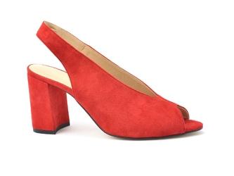Sandały uncome 28107 czerwony