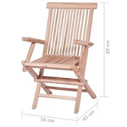 Zestaw ogrodowy składany stół + 6 krzeseł ruben brązowy