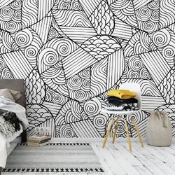Tapeta na ścianę - patchwork love , rodzaj - tapeta flizelinowa laminowana