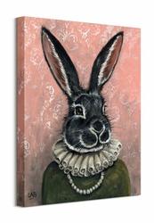 Lady Bunnikins - obraz na płótnie