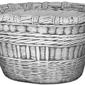 Donica - wazon z kamienia - koszyk 57x84x64 cm