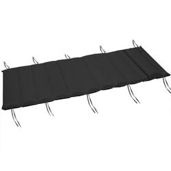 Materac poduszka poducha na leżak 182x61x7cm szary - antracyt