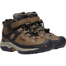 Buty trekkingowe dziecięce keen targhee mid wp - brązowy