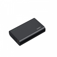 Aukey pb-xd12 black ultraszybki power bank | 10000 mah | 4xusb | 9a | quick charge 3.0 | power delivery | kabel usb-c