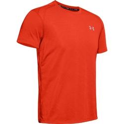 Koszulka męska under armour streaker 2.0 shortsleeve - pomarańczowy