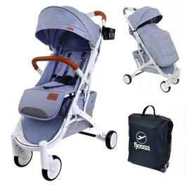 Fjessa sky comfort r szary wózek do 25kg + folia + ocieplacz + moskitiera