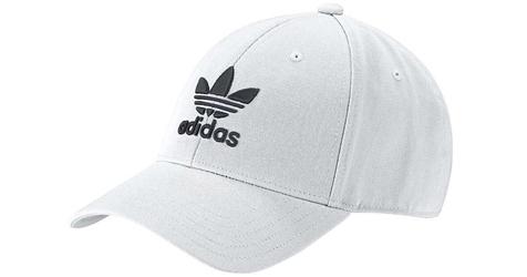 Adidas trefoil baseball cap fj2544 osfm biały