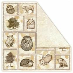 Papier Terra Incognita 30,5x30,5 cm - Arboreous - 06