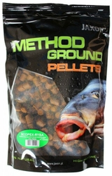 pellets Jaxon Method Ground 12mm Scopex Ryba 1kg