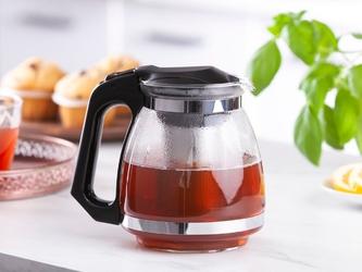 Dzbanek  czajniczek z zaparzaczem do herbaty i kawy szklany altom design 1,5 l