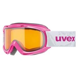 Gogle narciarskie dziecięce uvex slider różowe