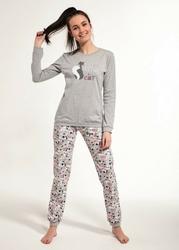 Cornette famp;y 27435 black cat 158-176 piżama dziewczęca