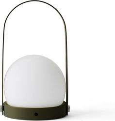 Lampa stołowa LED Carrie oliwkowa