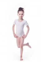 Body gimnastyczne lycra b7 krótki rękaw shepa