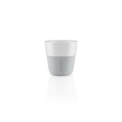 Eva solo - filiżanka do espresso 2 szt, 80 ml - kolor marble grey